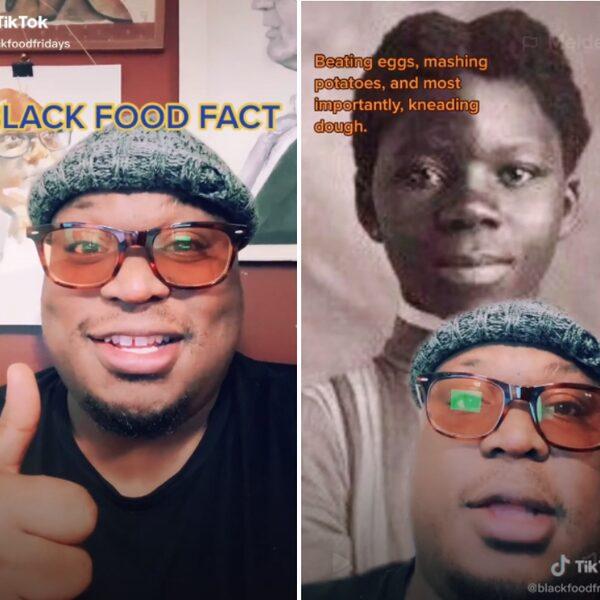 Deze vrolijke voedselhistoricus geeft TikTok-les over 'black food'