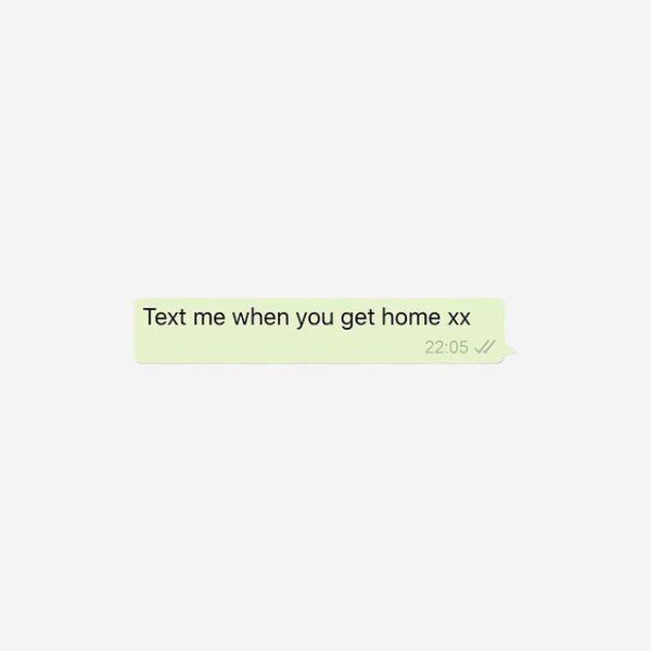 Post met 'Text me when you get home'-appje gaat viral na dood Britse vrouw