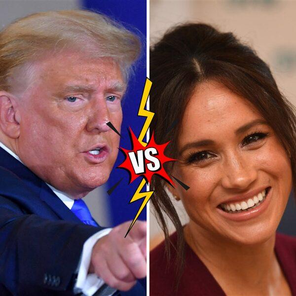 Donald Trump wil het in 2024 opnemen tegen Meghan Markle tijdens verkiezingen