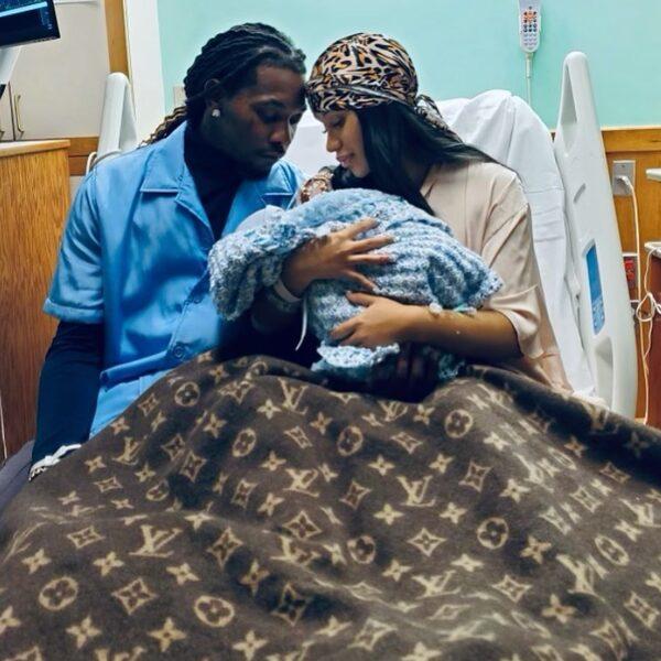 Cardi B en Offset verwelkomen hun tweede kindje