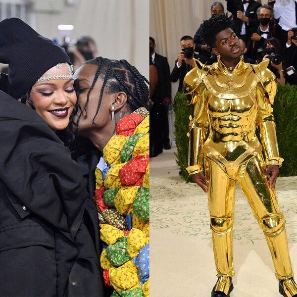 Rihanna, A$AP Rocky, Lil Nas X, Kim Kardashian: deze outfits vielen op bij het Met Gala