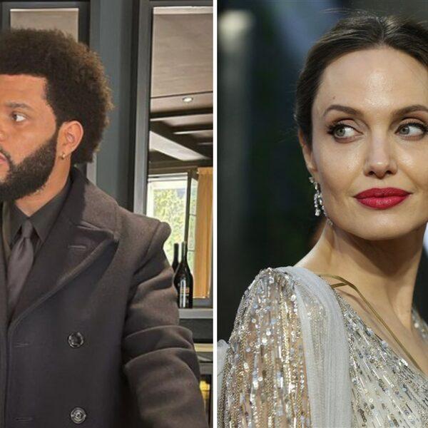 The Weeknd en Angelina Jolie voeden geruchten mogelijke relatie