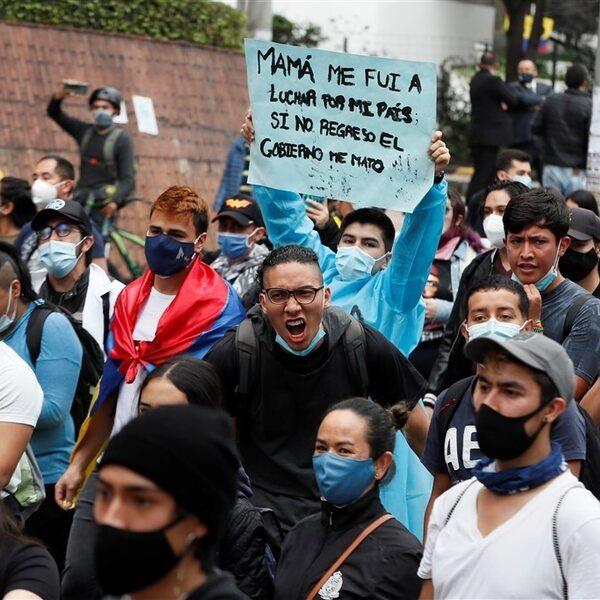 Dodelijke protesten in Colombia: wat is er aan de hand?