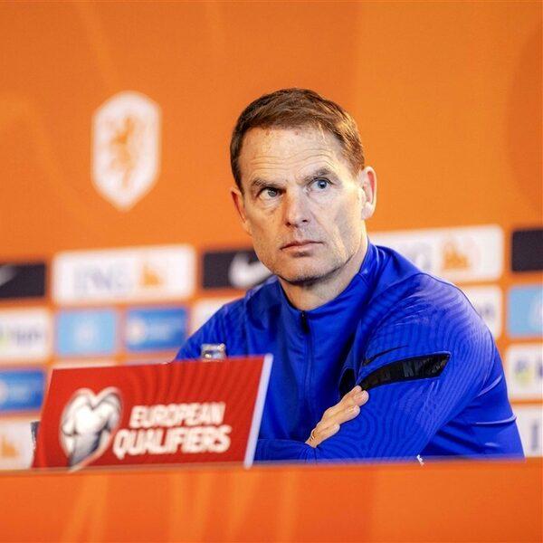 Frank de Boer maakt EK-voorselectie Oranje bekend