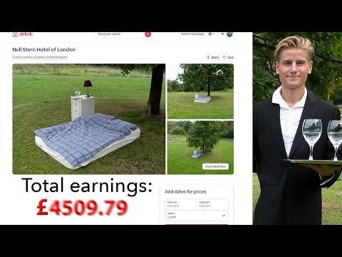 Airbnb prank