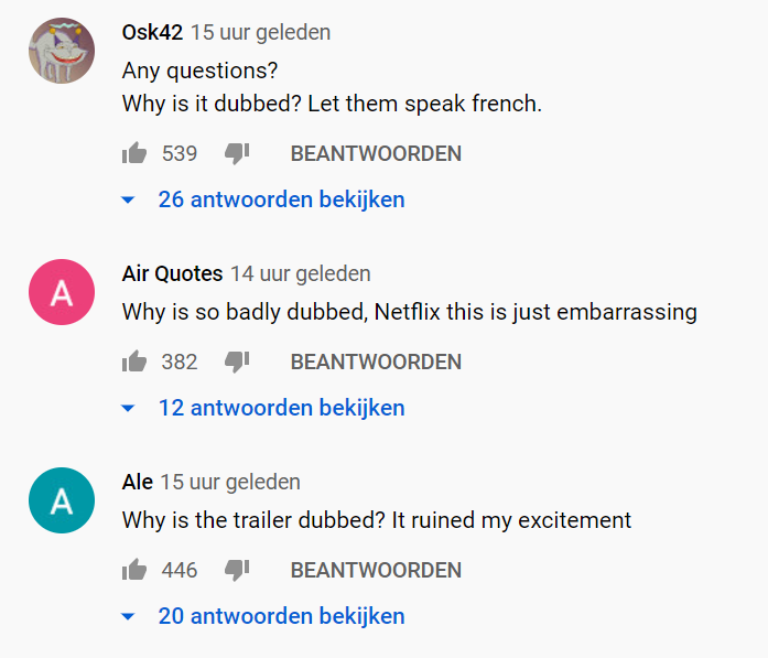 Comments lupin