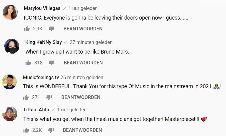 Reacties leave the door open