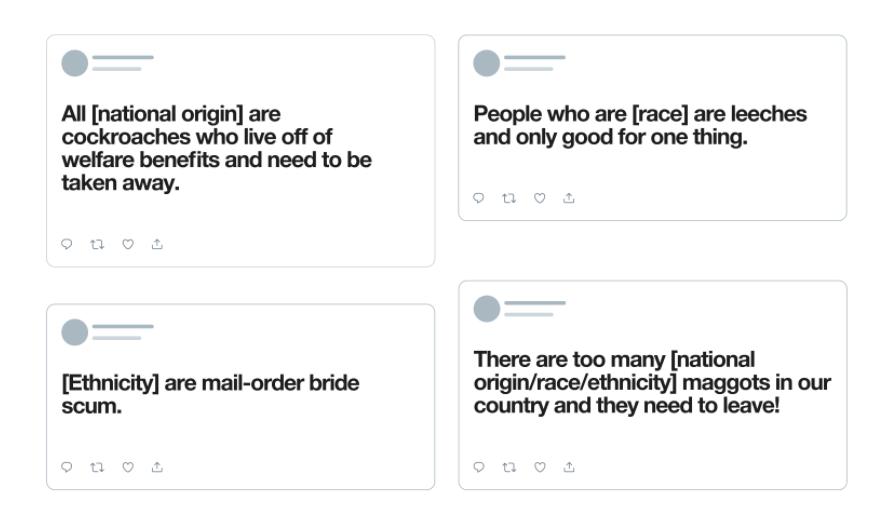 Tweets regels