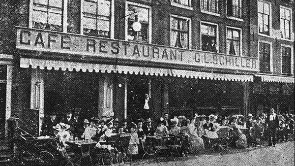 24 745f18d405 Caf Restaurant Schiller Rembrandtplein 32 34 36 Amsterdam 1900 1914 Wikimedia