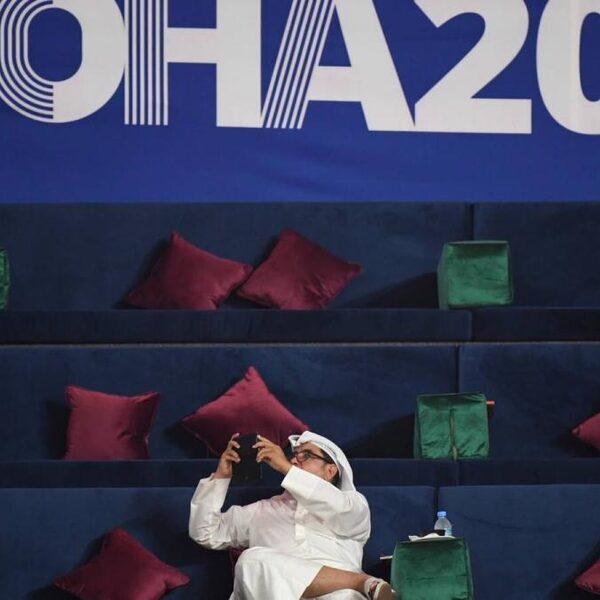 NOS Sportforum: 'Dit WK atletiek is een speeltje voor de sjeiks'