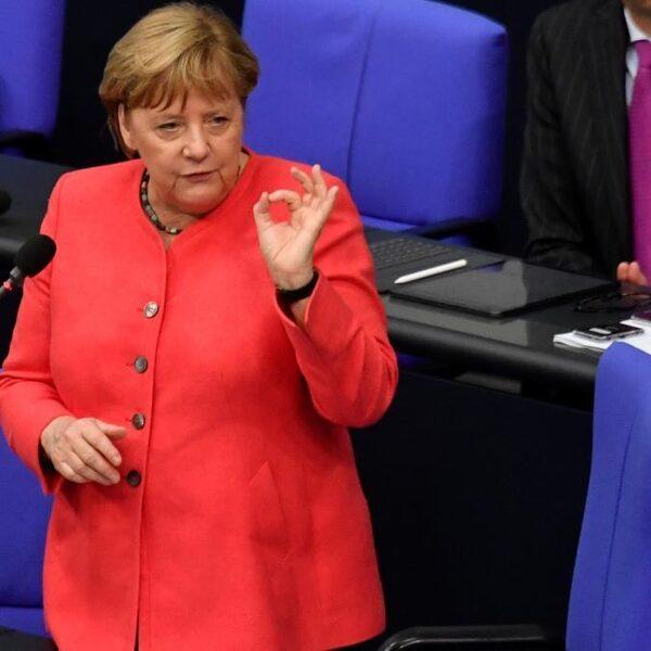 Europa onder druk: 'Als iemand het kan, dan is het Merkel'