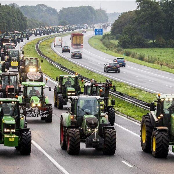 Nog steeds file op Nederlandse snelwegen door boerenprotest