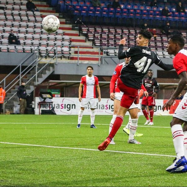 Feyenoord wint in extra tijd van stug FC Emmen