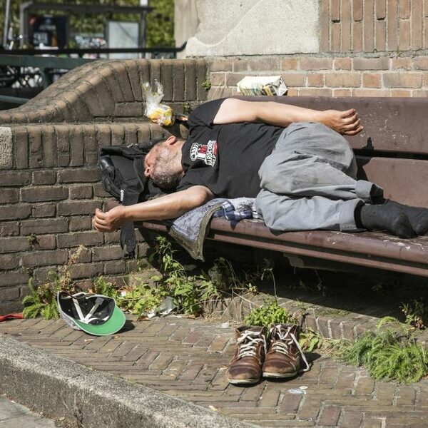 Aantal daklozen gedaald, na jarenlange stijging