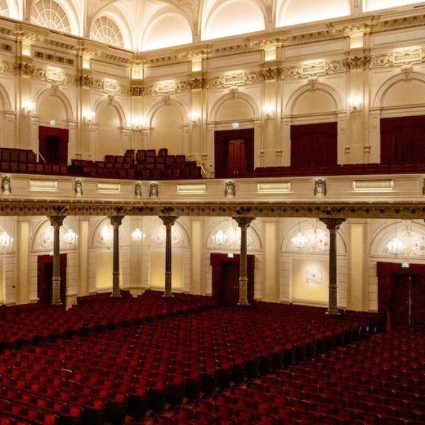 Concertgebouworkest speelt (op afstand) weer samen