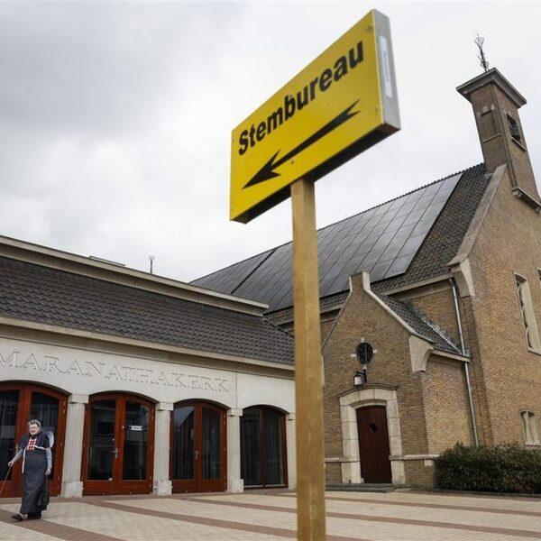 Helft kerkgaande christenen stemt niet op een christelijke partij