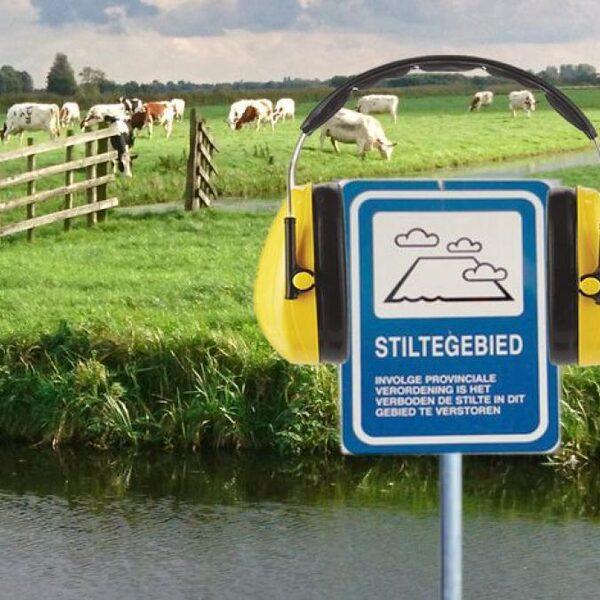 Waar ligt het lawaaiigste stiltegebied van Nederland?