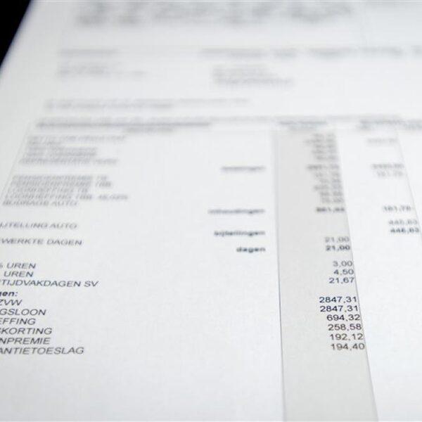 Het loonstrookje van 2021: minder loonbelasting en stijging pensioenpremie