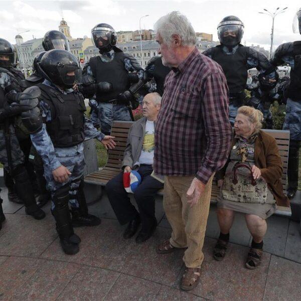 Het feest van de democratie op z'n Russisch