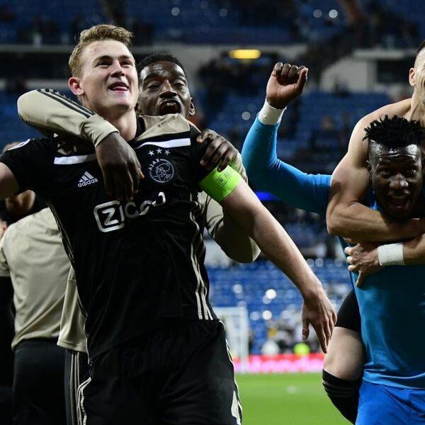 Ajax kegelt titelhouder Real Madrid uit Champions League