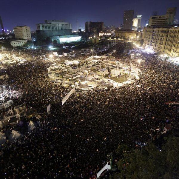 Het plein is de plek waar het volk haar stem laat horen