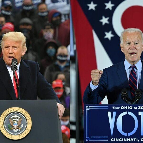 Biden op 264 kiesmannen, campagneteam Trump in verschillende staten naar rechter