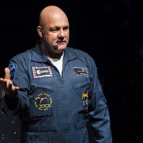 André Kuipers had iedere zaterdag schoonmaakdienst in het ISS