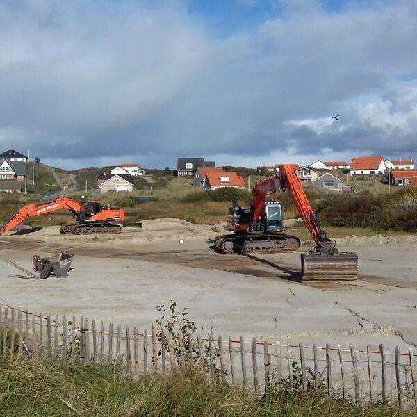 Ontsnapt plantje zorgt voor bouwput in Terschellingse duinen