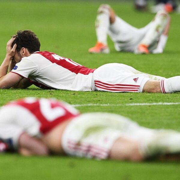 Ajax in laatste seconde uitgeschakeld in halve finale Champions League