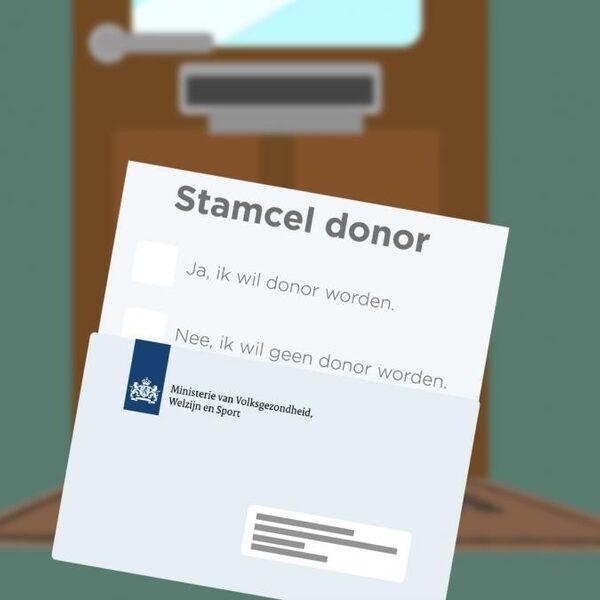 Honderdste stamceldonatie: 'als het goed gaat, komt dat door jouw stamcellen'