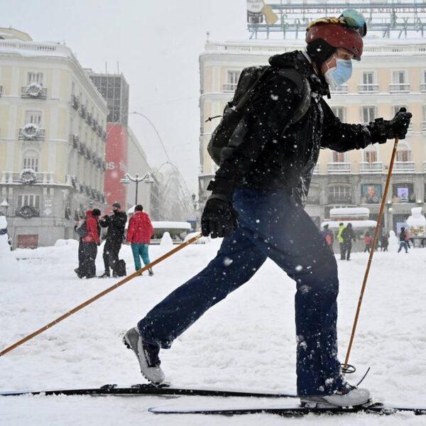 'In de sneeuw kun je spanning even loslaten'