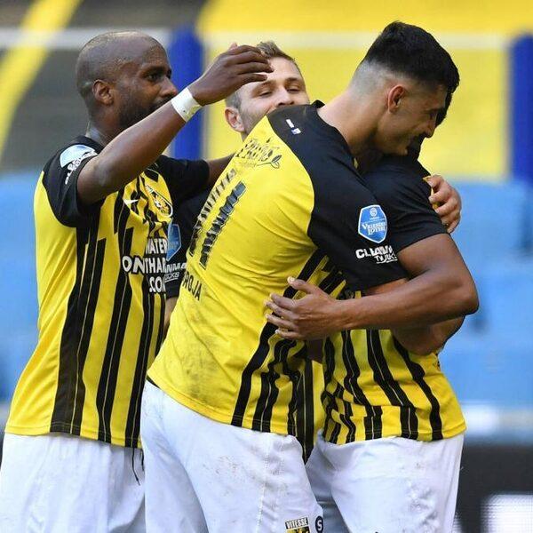 Vitesse blijft in het spoor van Ajax, Feyenoord wint ook