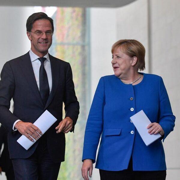 Podcast De Dag: Hoe de liefde tussen Merkel en Rutte bekoelde