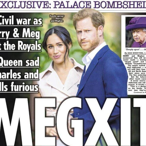 Prins Harry en Meghan doen stap terug, Britse pers pakt groot uit