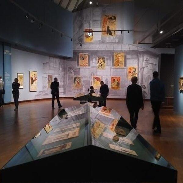 Parijse prenten uit de tijd van Van Gogh
