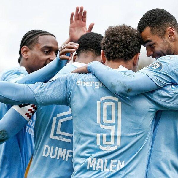 Zakelijke overwinning voor PSV: 0-2