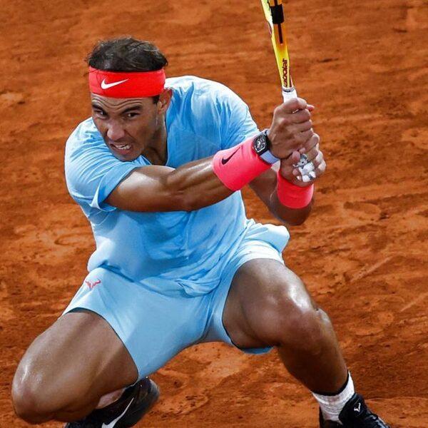 Tenniswedstrijd van het jaar eindigt in anticlimax: Nadal veel sterker
