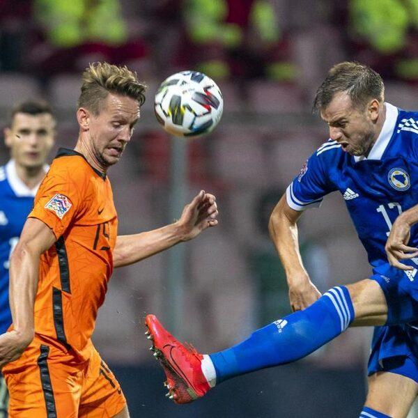 Nederlands Elftal speelt doelpuntloos gelijk in Bosnië en Herzegovina