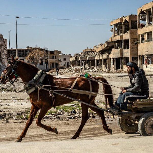 10 jaar oorlog in Syrië: 'Het is een hel'