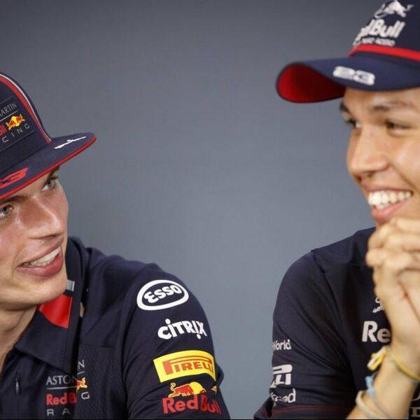 Red Bull grijpt in: Albon vervangt Gasly als teamgenoot Verstappen