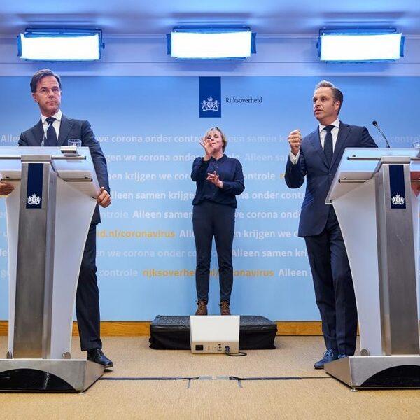 Volg de persconferentie van premier Rutte en minister De Jonge live op NPO Radio 1