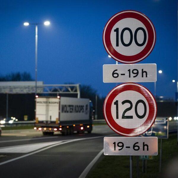 Maximumsnelheid op sommige wegen nu al 100 km/h