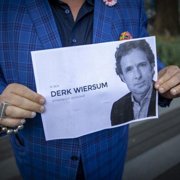'Het is ongelofelijk onwerkelijk dat Derk Wiersum nu niet een advocaat is in een zaak, maar dat hij onderwerp is'