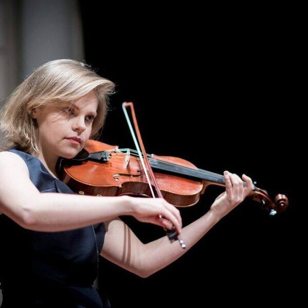 Diamanda La Berge Dramm: 'De viool is als een spiegel'