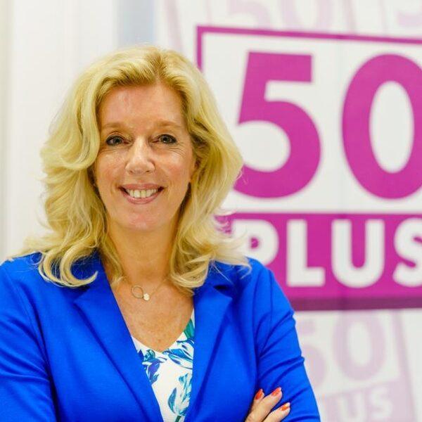 Kandidaat-lijsttrekker Liane den Haan moet 50Plus uit het slop trekken