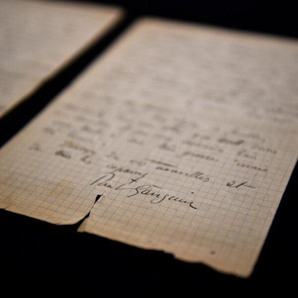 'Unieke brief' Van Gogh en Gauguin toegevoegd aan collectie Van Gogh Museum