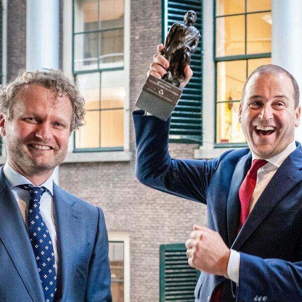 Lodewijk Asscher wint Debatprijs 2019