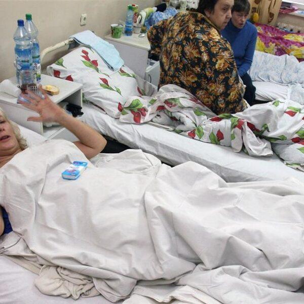 In Rusland zit de gezondheidszorg zélf in de lappenmand