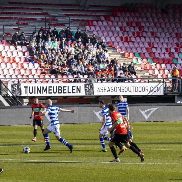 Fieldlab proef bij NEC: 'Er moet voor Pasen weer publiek in het stadion zitten'