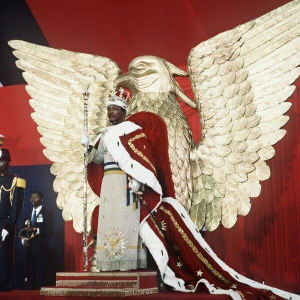 Keizer Bokassa was een dictator in een keizerlijk jasje